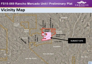FS15-069 Rancho Mercado Unit Map
