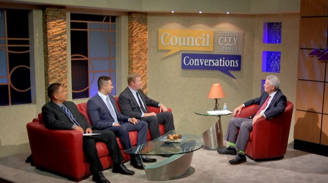 Skip Hall Council Conversations Show